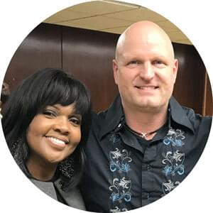 CeCe Winans and Dr Asa Andrew