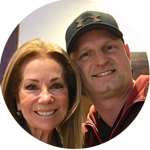 Kathy Lee Gifford and Dr Asa Andrew